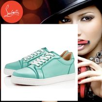 Christian Louboutin Rubber Sole Plain Low-Top Sneakers