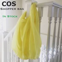 COS Casual Style Unisex Street Style Plain Totes