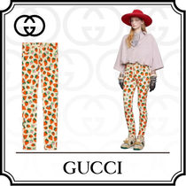 GUCCI Cotton Long Skinny Pants