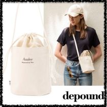 depound Casual Style Plain Shoulder Bags