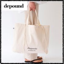 depound Casual Style Plain Totes
