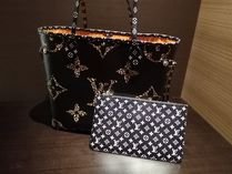 Louis Vuitton NEVERFULL Leopard Patterns Unisex A4 2WAY Totes