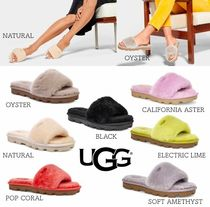UGG Australia COZETTE Open Toe Platform Casual Style Street Style Slippers Shoes