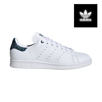 adidas STAN SMITH Leopard Patterns Street Style Leather Sneakers (EE4895 )