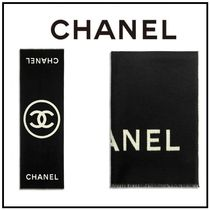 CHANEL Cashmere Heavy Scarves & Shawls