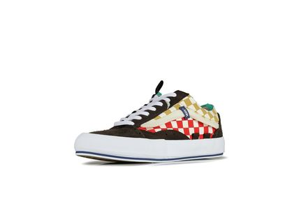 Other Check Patterns Street Style Sneakers