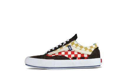 Other Plaid Patterns Street Style Sneakers