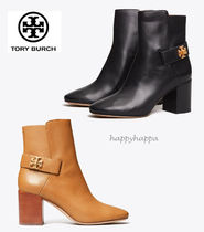 Tory Burch Plain Leather Boots Boots