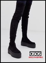 ASOS Casual Style Plain Over-the-Knee Boots