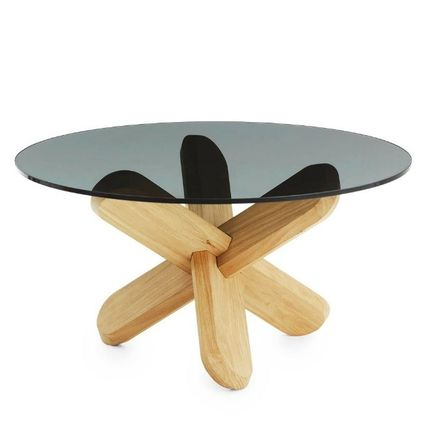 Normann Copenhagen Table & Chair Blended Fabrics Wooden Furniture Coffee Tables Table & Chair 3