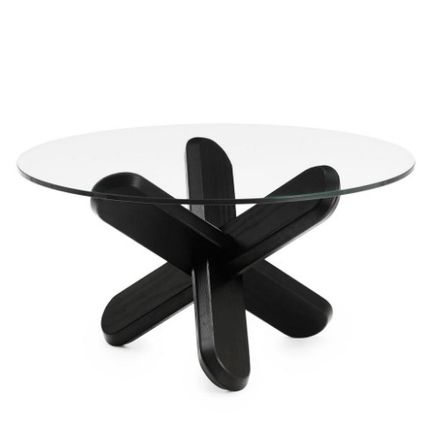 Normann Copenhagen Table & Chair Blended Fabrics Wooden Furniture Coffee Tables Table & Chair 2