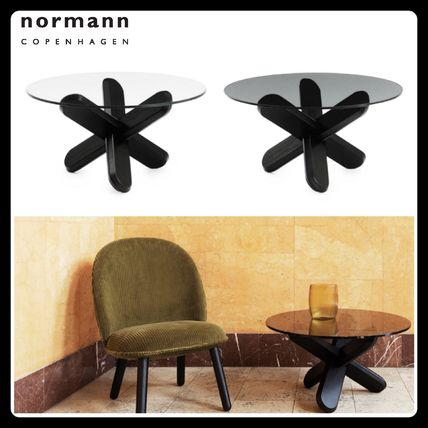 Normann Copenhagen Table & Chair Blended Fabrics Wooden Furniture Coffee Tables Table & Chair