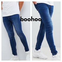 boohoo Denim Skinny Fit Pants