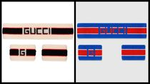 GUCCI Stripes Unisex Street Style Accessories