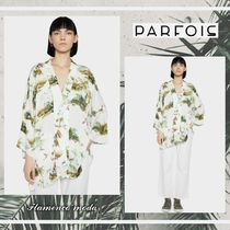 PARFOIS Casual Style Cropped Other Animal Patterns Cardigans