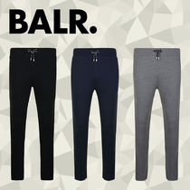 BALR Street Style Plain Cotton Joggers & Sweatpants