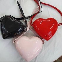 Melissa Heart Casual Style PVC Clothing Crossbody Shoulder Bags