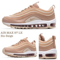 Nike AIR MAX 97 Unisex Plain Leather Low-Top Sneakers