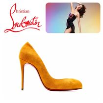 Christian Louboutin Suede Elegant Style Pumps & Mules