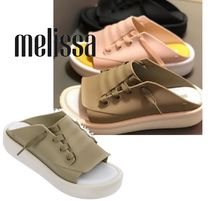 Melissa Casual Style Collaboration PVC Clothing Sabo Sandals Sandal