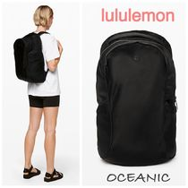 lululemon Unisex Plain Backpacks