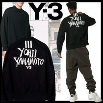 Y-3 Street Style Short Sleeves Designers T-Shirts