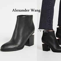 Alexander Wang Casual Style Street Style Plain Leather