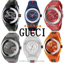 GUCCI Unisex Quartz Watches Analog Watches