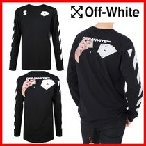 Off-White Street Style Cotton T-Shirts