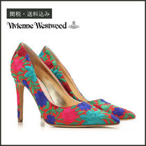 Vivienne Westwood Flower Patterns Tropical Patterns Blended Fabrics Pin Heels