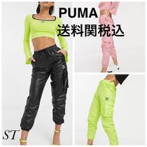 PUMA Casual Style Street Style Plain Long Pants