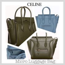 CELINE Luggage Leather Totes