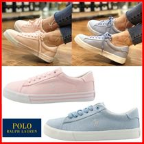 POLO RALPH LAUREN Casual Style Street Style Low-Top Sneakers