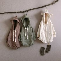 Khaki Baby Girl Dresses & Rompers