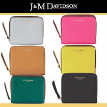 J & M Davidson Plain Folding Wallets