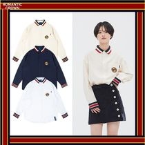 ROMANTIC CROWN Casual Style Unisex Street Style Shirts & Blouses