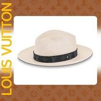 Louis Vuitton Felt Hats Straw Hats