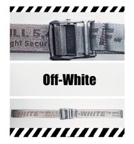 Off-White Street Style Collaboration Cotton Belts