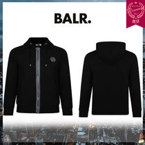 BALR Street Style Long Sleeves Cotton Hoodies