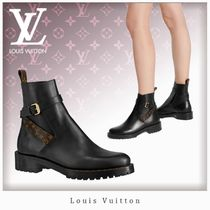 Louis Vuitton MONOGRAM Monogram Leather Ankle & Booties Boots