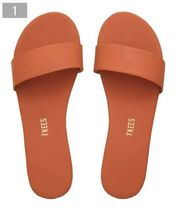 TKEES Casual Style Plain Leather Sandals Sandal