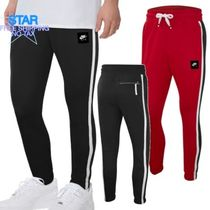 Nike Tapered Pants Unisex Street Style Plain Tapered Pants