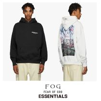 FEAR OF GOD ESSENTIALS Street Style Collaboration Hoodies
