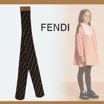 FENDI Blended Fabrics Baby Girl Underwear