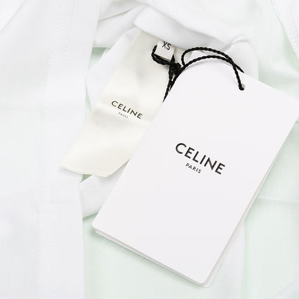 CELINE T-Shirts Cotton T-Shirts 4