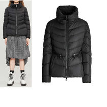 MONCLER MIRIEL Fur Plain Medium Down Jackets