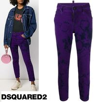 D SQUARED2 Casual Style Street Style Tie-dye Pants