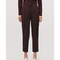 COS Plain Office Style Bold Cropped & Capris Pants