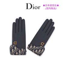 Christian Dior Leather Leather & Faux Leather Gloves