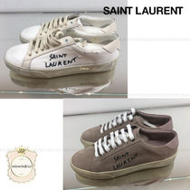 Saint Laurent Casual Style Low-Top Sneakers